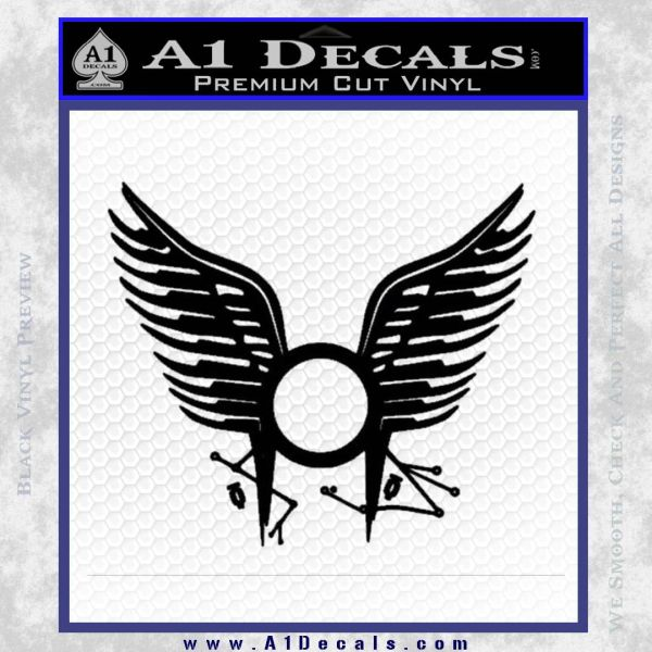 BSG Tattoo Decal Sticker Battle Star Galactica Viper Pilot D1 21