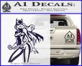 Bat Girl Hot Batgirl Decal Sticker PurpleEmblem Logo 120x97