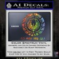 Battlestar Galactica So Say We All Bsg Decal Sticker CR Glitter Sparkle 120x120