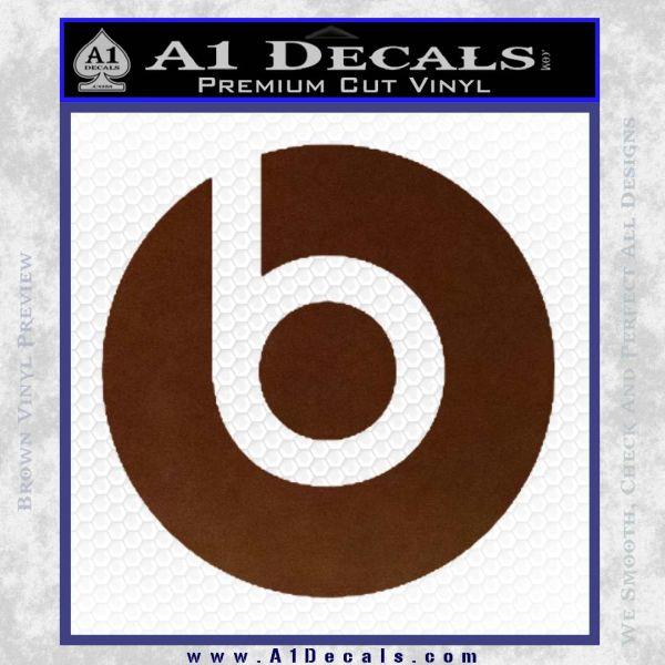 Beats By Dre Decal Sticker » A1 Decals