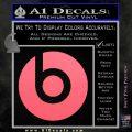 Beats By Dre Decal Sticker Pink Emblem 120x120