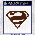 Bizarro Decal Sticker BROWN Vinyl 120x120