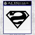 Bizarro Decal Sticker Black Vinyl 120x120