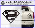 Bizarro Decal Sticker Carbon FIber Black Vinyl 120x97