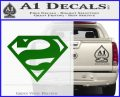 Bizarro Decal Sticker Green Vinyl Logo 120x97