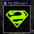 Bizarro Decal Sticker Lime Green Vinyl 120x120
