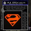 Bizarro Decal Sticker Orange Emblem 120x120