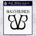 Black Veil Brides Full Band Decal Sticker Black Vinyl 120x120