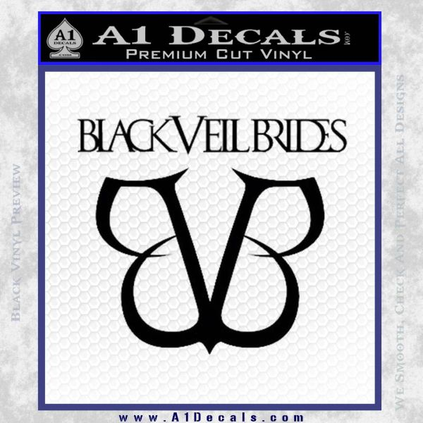 Black Veil Brides Full Band Decal Sticker Vinyl