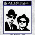 Blues Brothers Decal Sticker Black Vinyl 120x120