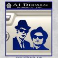 Blues Brothers Decal Sticker Blue Vinyl 120x120