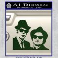 Blues Brothers Decal Sticker Dark Green Vinyl 120x120