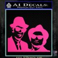 Blues Brothers Decal Sticker Pink Hot Vinyl 120x120