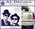 Blues Brothers Decal Sticker PurpleEmblem Logo 120x97