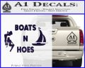 Boats And Hoes Decal Sticker PurpleEmblem Logo 120x97