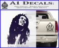 Bob Marley Decal Sticker PurpleEmblem Logo 120x97