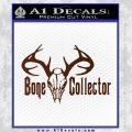 Bone Collector Decal Sticker Deer BROWN Vinyl 120x120