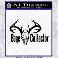 Bone Collector Decal Sticker Deer Black Vinyl 120x120