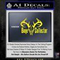 Bone Collector Decal Sticker Deer Yellow Laptop 120x120