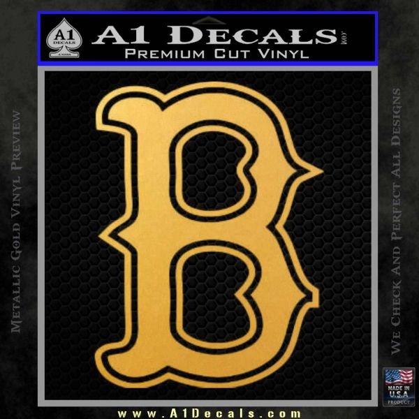 Boston Red Sox Decal Sticker B » A1 Decals