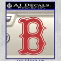 Boston Red Sox Decal Sticker B 7 120x120