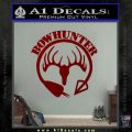 Bow Hunter Circle Arrow Decal Sticker DRD Vinyl 120x120
