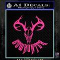Bow Hunter Decal Sticker Skull Pink Hot Vinyl 120x120