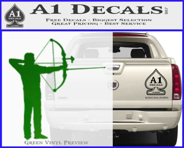 Bow Hunting Decal Sticker Archery A Decals - Bow hunting decals for trucks