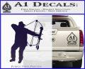 Bow Hunting Decal Sticker D2 PurpleEmblem Logo 120x97