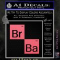 Breaking Bad Element Squares Decal Sticker Pink Emblem 120x120