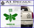 Breaking Bad Methylamine Ch3nh2 D1 Decal Sticker Green Vinyl Logo 120x97