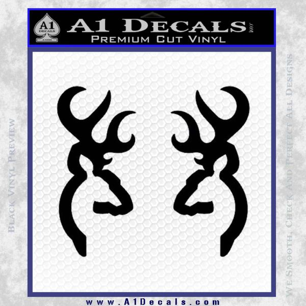 Browning Deer Decal Sticker A Decals - Browning vinyl decals