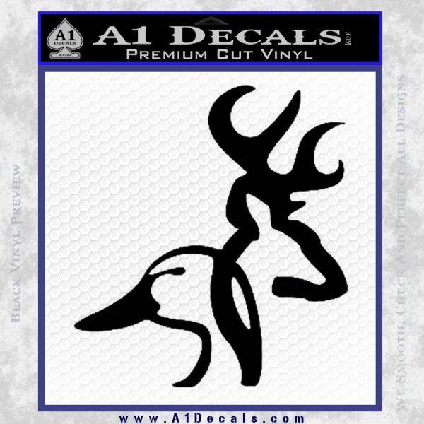 Browning Ducks Unlimited Combined Decal Sticker A Decals - Browning vinyl decals