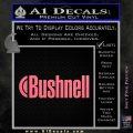Bushnell Optics Decal Sticker Pink Emblem 120x120