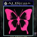 Butterfly D2 Decal Sticker Pink Hot Vinyl 120x120