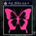 Butterfly D2 Decal Sticker Pink Hot Vinyl 120x120