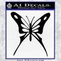 Butterfly D3 Decal Sticker Black Vinyl 120x120
