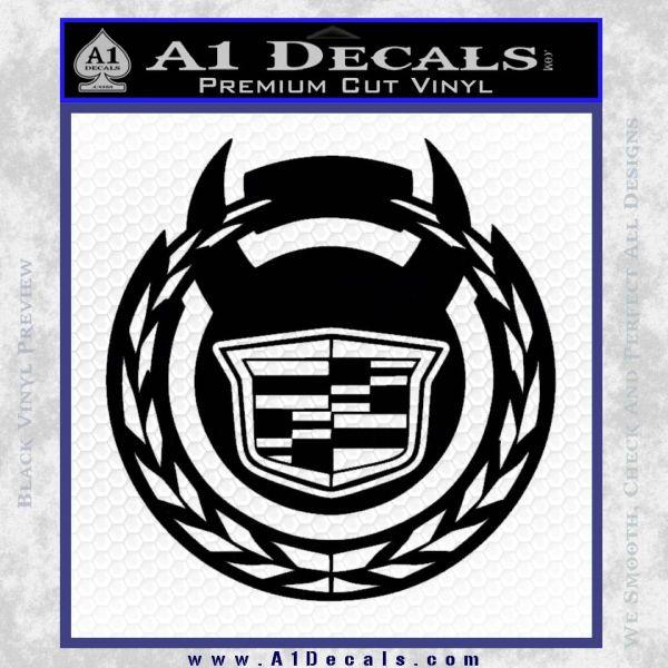 Cadillac Diablo Sport D2 Decal Sticker 187 A1 Decals