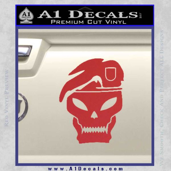Call Of Duty Black Ops 2 Skull Beret Decal Sticker A1 Decals