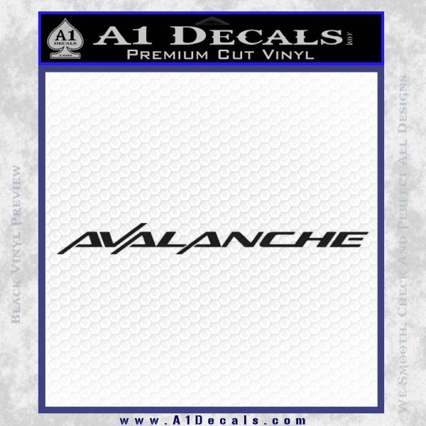 Got Avalanche Sticker Decal 2