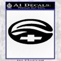 Chevy Malibu Decal Sticker Black Vinyl 120x120