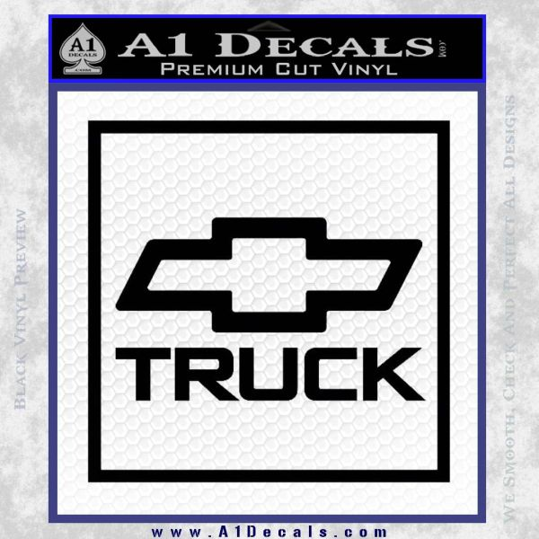 Chevy Trucks Decal Sticker SQ A Decals - Chevy decals for trucks
