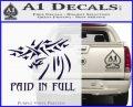 Christian Decal Sticker Paid In Full PurpleEmblem Logo 120x97