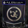 Chuck Tv Nerd Herd CR Decal Sticker Carbon FIber Chrome Vinyl 120x120