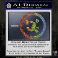 Chuck Tv Nerd Herd CR Decal Sticker Glitter Sparkle 120x120