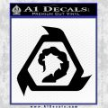 Command And Conquer NOD Decal Sticker Black Vinyl 120x120