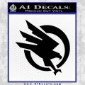 Command and Conquer GDI Decal Sticker Black Vinyl 120x120