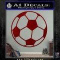 Custom Soccer Decal Sticker DRD Vinyl 120x120