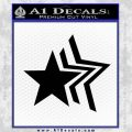 Custom Star Echo Decal Sticker Black Vinyl 120x120
