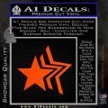 Custom Star Echo Decal Sticker Orange Emblem 120x120